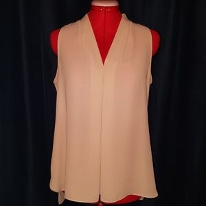 Vince Camuto Champagne Pink Blouse